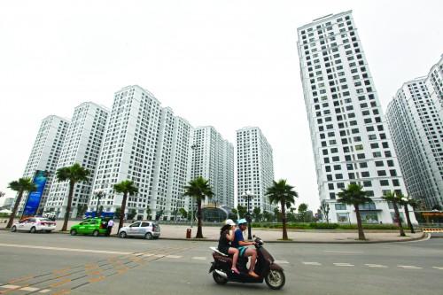 Vốn ngoại sẽ giảm áp lực tín dụng Bất động sản