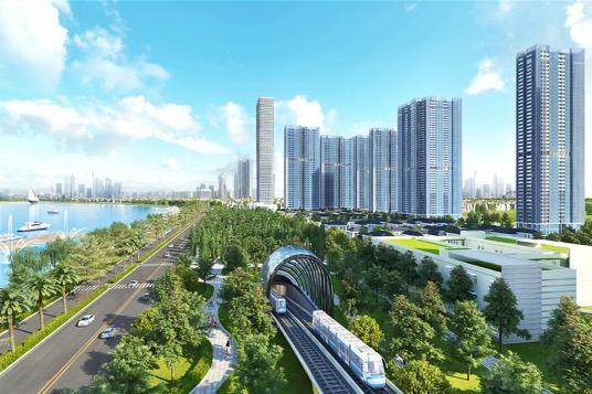 """Khởi động từ tháng 8/2012, tuyến metro số 1 (Bến Thành – Suối Tiên) có chiều dài 19,7km đã khai phát pháo đầu tiên cho cơ hội """"hái ra tiền"""" của giới đầu tư."""