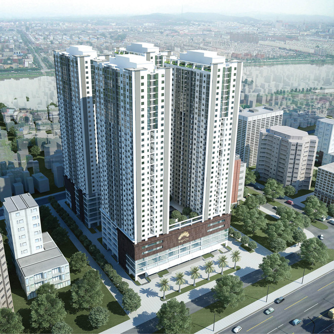 BIDV tài trợ Tổ hợp nhà ở xã hội và dịch vụ thương mại AZ Thăng Long