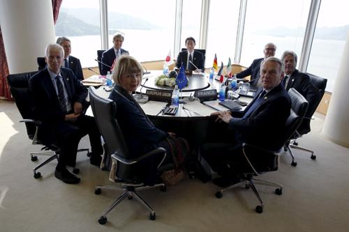 Cuộc đọ sức gián tiếp về Biển Đông tại hội nghị G7