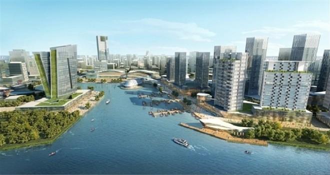 """Đại gia Dubai """"bắt tay"""" Bitexco đầu tư dự án KĐT Bình Quới - Thanh Đa"""