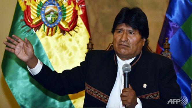 tong thong bolivia evo morales - anh: afp