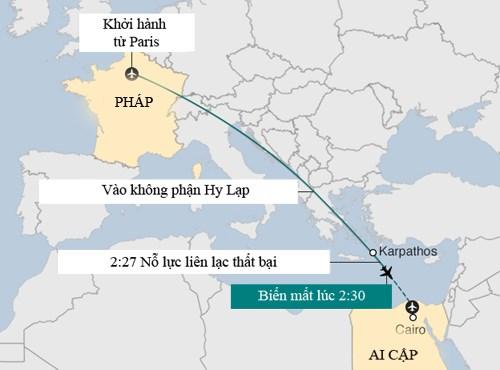 hanh trinh cuoi cung cua chiec may bay xau so. do hoa:bbc.