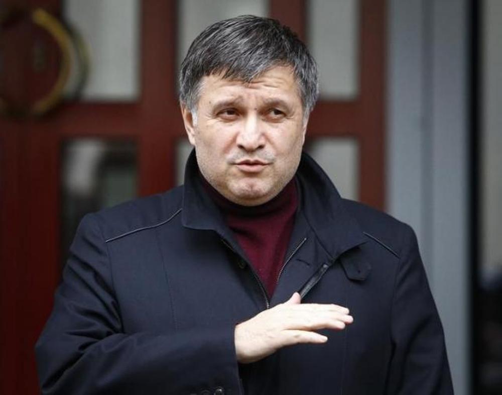 bo truong bo noi vu ukraine, arsen avakov - anh: reuters