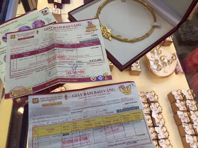 Bảo Tín Minh Châu nói giao nhầm vàng cho khách và cách chức nhân viên bán hàng