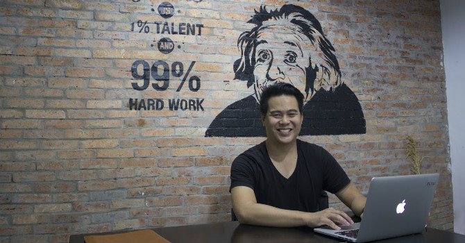 ong bui tran phi long, ceo nau digital creative.