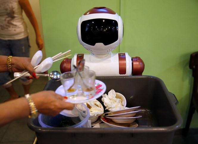 Cách mạng nhân viên robot ở Singapore