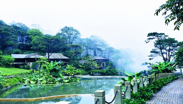 cong trinh le mont bavi resort & spa – resort toa lac o do cao 600 m giua vuon quoc gia ba vi.