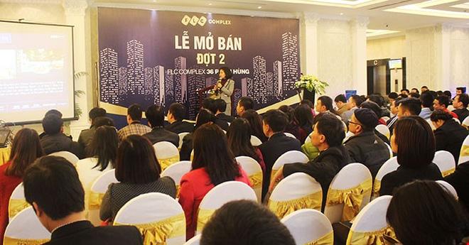 """Căn hộ FLC Complex 36 Phạm Hùng """"hút"""" 500 khách đợt mở bán thứ 2"""