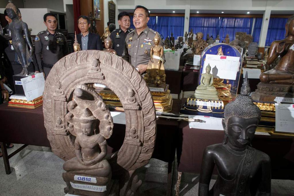 Góc tối: Cảnh sát biển Thái Lan