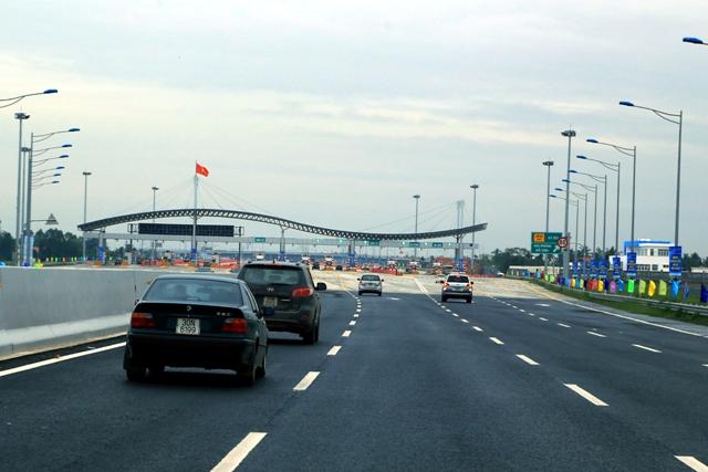 Biểu mức phí mới của đường cao tốc Hà Nội – Hải Phòng và Quốc lộ 5