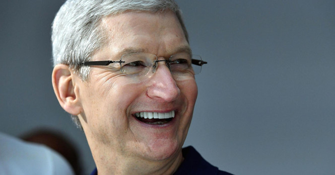ceo apple tim cook - anh: afp