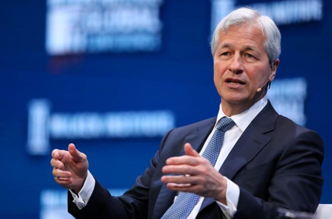 ceo jpmorgan chase jamie dimon anh: reuters