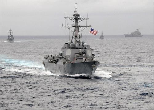 Chiến hạm Mỹ vào vùng 12 hải lý quanh đá Subi