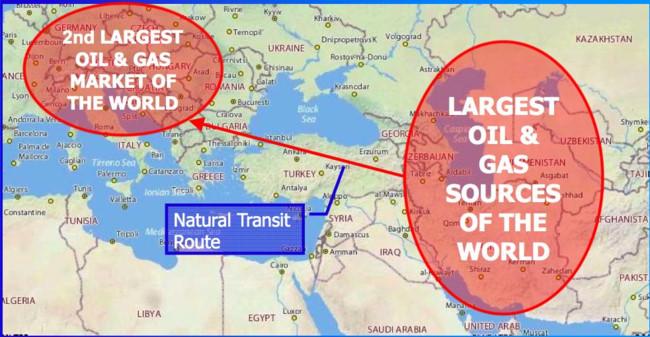'Ma trận' Syria và cuộc chiến dầu lửa Trung Đông