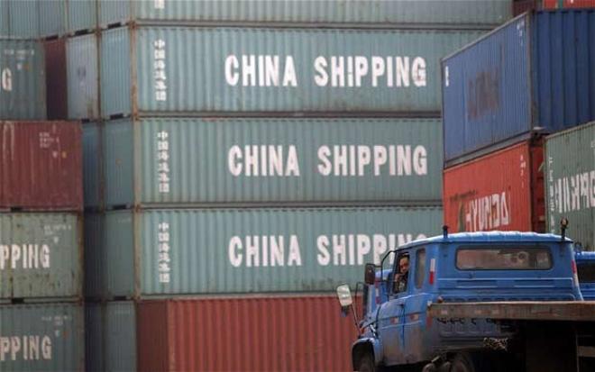 Trung Quốc: Xuất khẩu sụt giảm tháng thứ 5 liên tiếp
