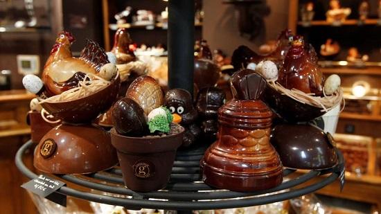 Năm con số thú vị về thị trường sôcôla tại Pháp