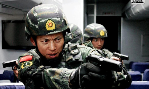 Quân đội Trung Quốc truy lùng khủng bố tới tận đâu theo luật mới