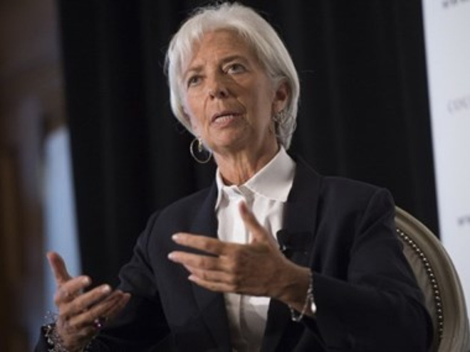 tong giam doc quy tien te quoc te (imf) christine lagarde. (nguon: afp)