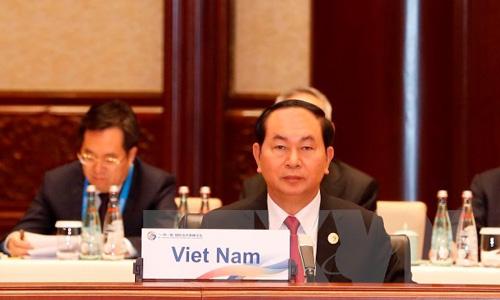 Việt Nam đề xuất các nguyên tắc trong 'Vành đai và Con đường'