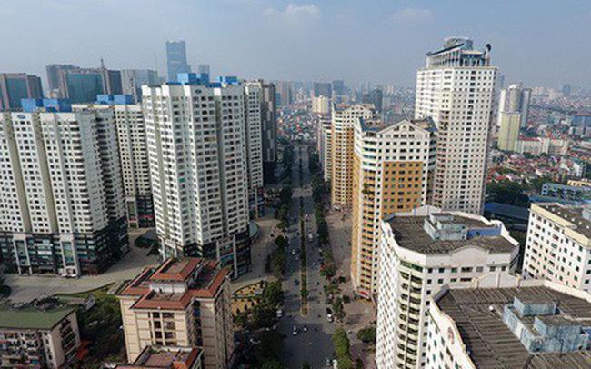 Thị trường chung cư tại Hà Nội sụt giảm mạnh
