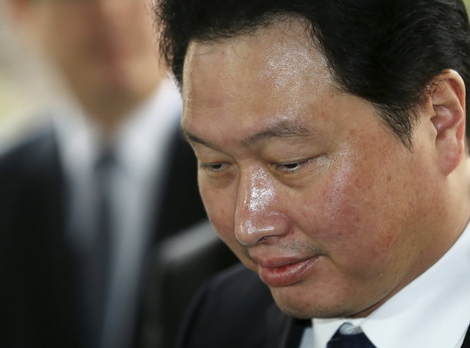 chu tich sk group chey tae won - anh: reuters
