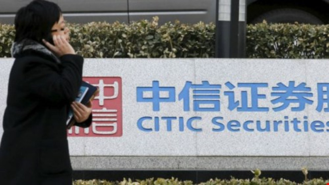 hai sep o citic securities da 'mat tich'. anh reuters