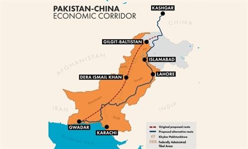 du an hanh lang kinh te trung quoc - pakistan. anh: pakistankakhudahafiz.com