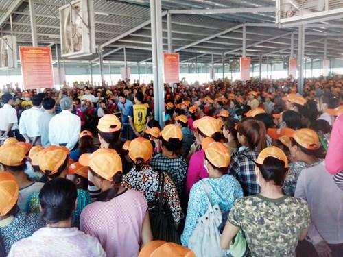 1.000 công nhân Việt Nam ngưng việc, phản đối chủ quản Trung Quốc nhục mạ nhân phẩm