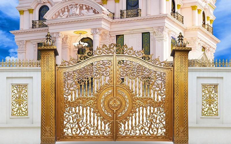 Giá cổng nhôm đúc phụ thuộc vào những yếu tố chính nào?