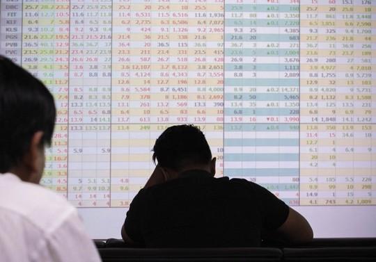 Cú trượt dài của thị trường chứng khoán Việt