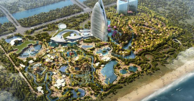 Các công viên giải trí tỷ USD cạnh tranh với Disney Thượng Hải