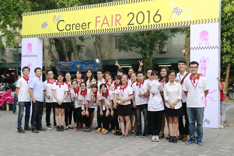 Career Fair 2016 – Bước đệm không thể thiếu để về đích trong hành   trình nghề nghiệp