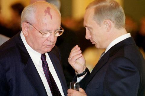 Ông Gorbachev xem ông Putin là người phi thường...