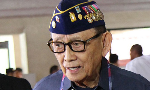 cuu tong thong philippines fidel ramos. anh: cnn