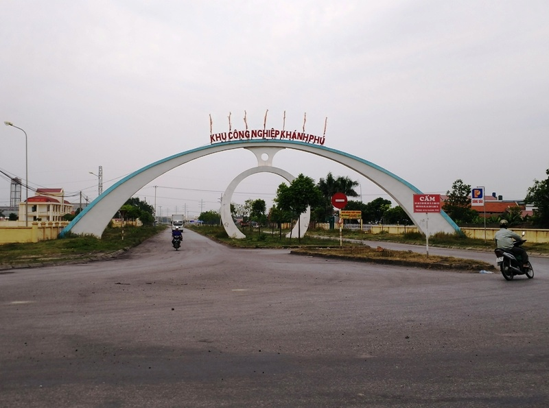 khu cong nghiep khanh phu noi nha may dam ninh binh dong va hoat dong tu nam 2012.