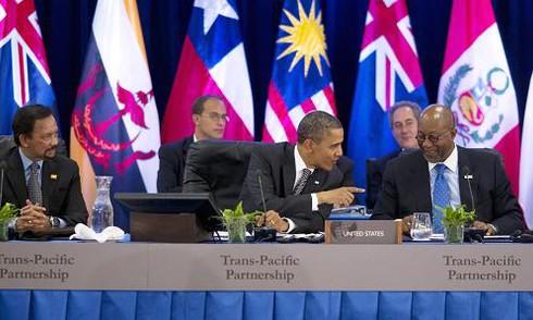 Obama, Nike và TPP