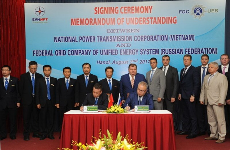 Việt – Nga ký thỏa thuận hợp tác về truyền tải điện - ảnh 2