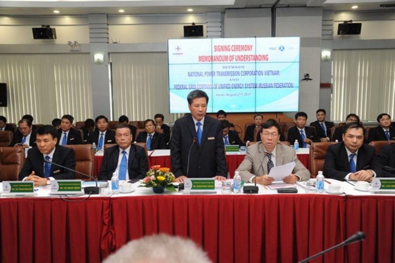 Việt – Nga ký thỏa thuận hợp tác về truyền tải điện - ảnh 1