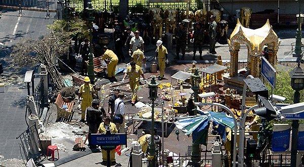 hien truong vu danh bom denerawano bangkok ngay 17-8 - anh: ap