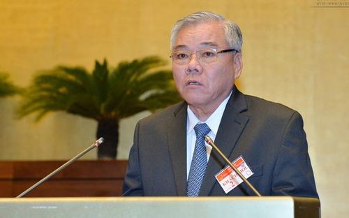 Tổng thanh tra Chính phủ Phan Văn Sáu có đơn xin thôi chức