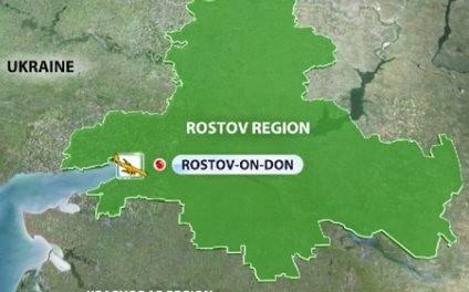 may bay gap nan trong luc ha canh tai thanh pho rostov-on-don.