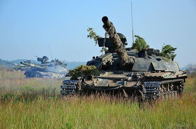 xe tang t-64bm cua ukraine (anh: bo quoc phong ukraine)