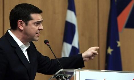 thu tuong alexis tsipras se gap bo truong tai chinh duc wolfgang schäuble tai wef. anh: epa