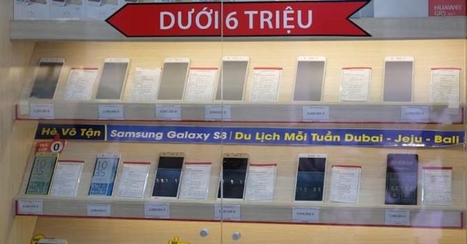 Phân khúc điện thoại tầm trung tại Việt Nam 'nổi sóng'