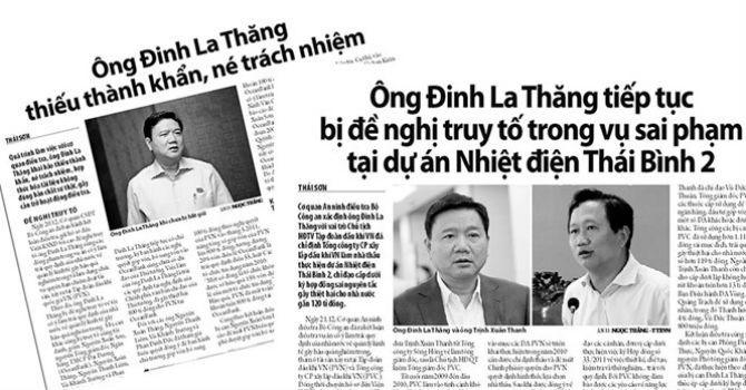 'Thần tốc' kết luận điều tra vụ ông Đinh La Thăng có phạm luật?