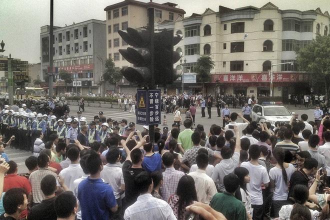 Trung Quốc chật vật với đình công