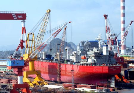 Doanh nghiệp ngoại tăng đầu tư vào công nghiệp đóng tàu