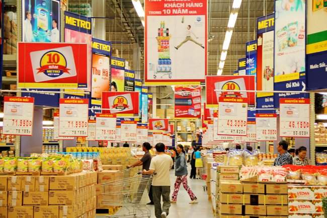 Doanh nghiệp Thái dồn sức phủ sóng thị trường Việt
