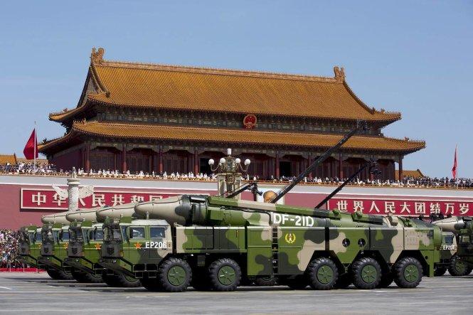 Tham vọng của Trung Quốc thổi bùng chạy đua vũ trang châu Á